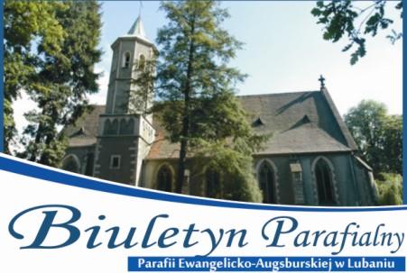Biuletyn Parafialny Parafii Ewangelickiej w Lubaniu