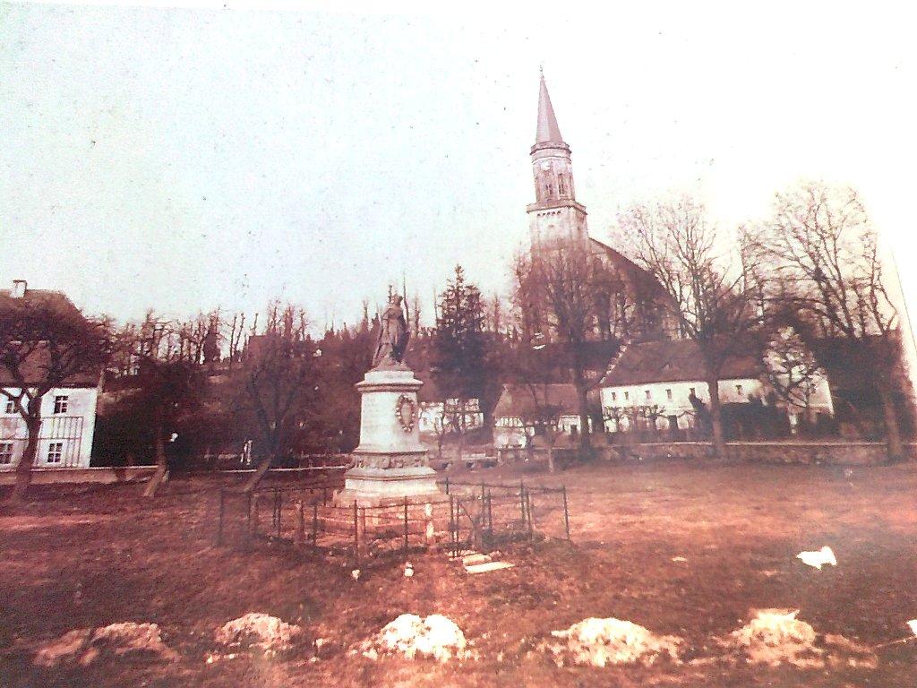 Kościół ewangelicki w Raciborowicach/Gross Hartmansdorf