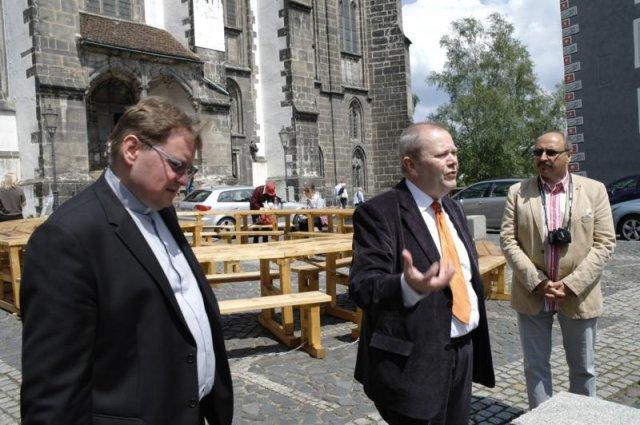 Ks. dr Hans- Wilhelm Pietz prezentuje Parafię Ewangelicką Śródmieścia Görlitz