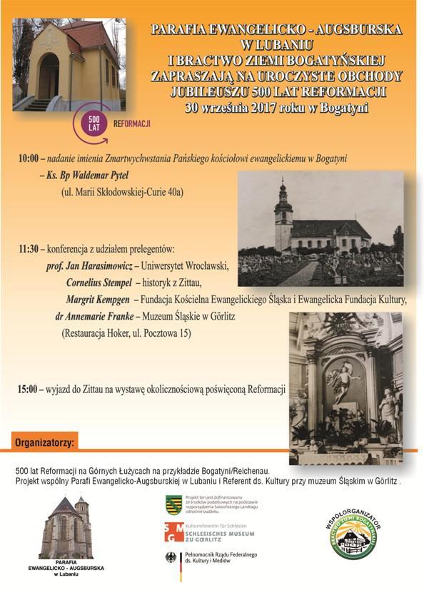 Rok Reformacji w Bogatyni