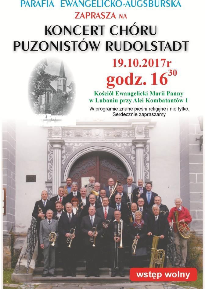 Puzoniści z Rudolstadt w Lubaniu z okazji Roku Reformacji
