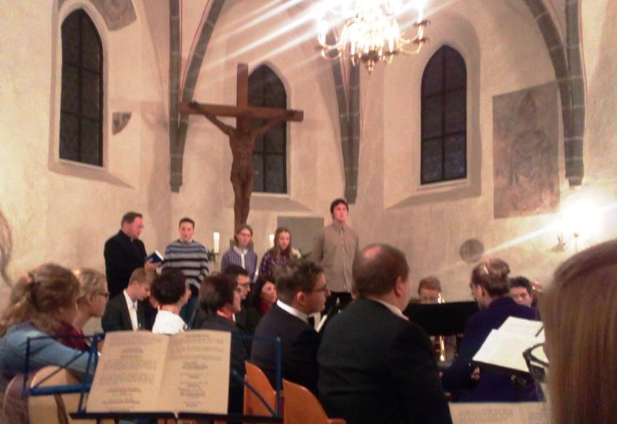Adwentowy koncert w kościele w Schleife/Slepo