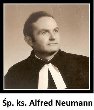 Zmarł śp. ks. Alfred Neumann