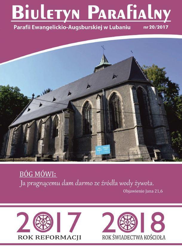 Biuletyn Parafialny 2017